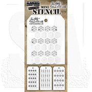 Tim Holtz Mini Layering Stencil  Set 45