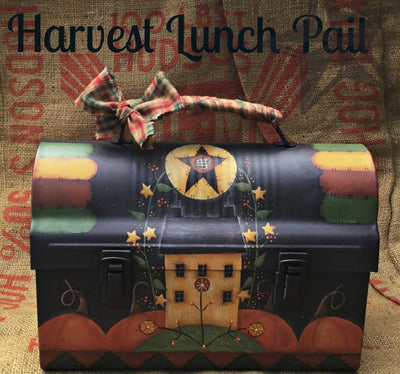 Harvest Lunch Pail E-Pattern by Vicki Saum