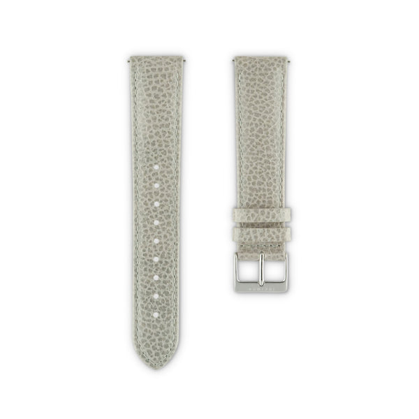WATCH STRAP IN GREY ITALIAN LEATHER