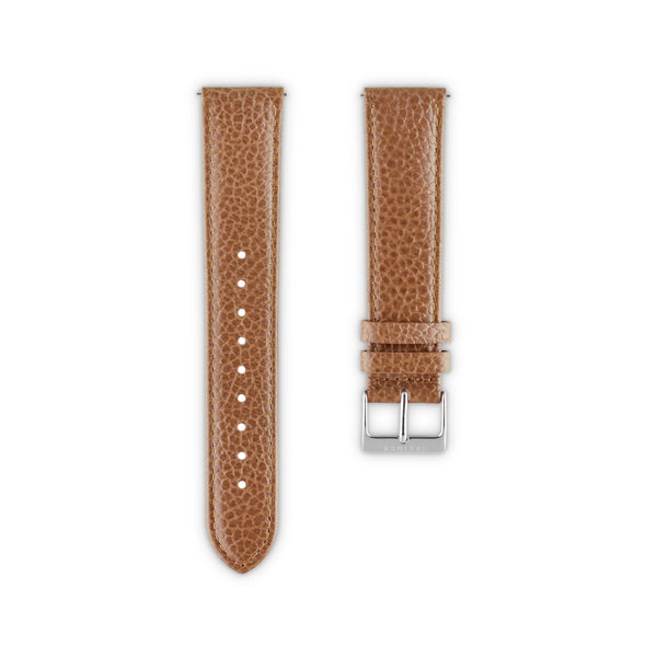 WATCH STRAP IN CAMEL ITALIAN LEATHER