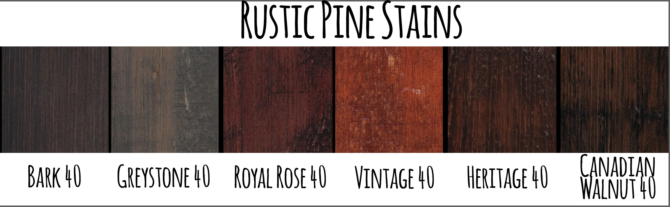 Rustic Pine Swatches