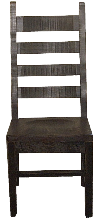 Rustic Ladder Back Side Chair