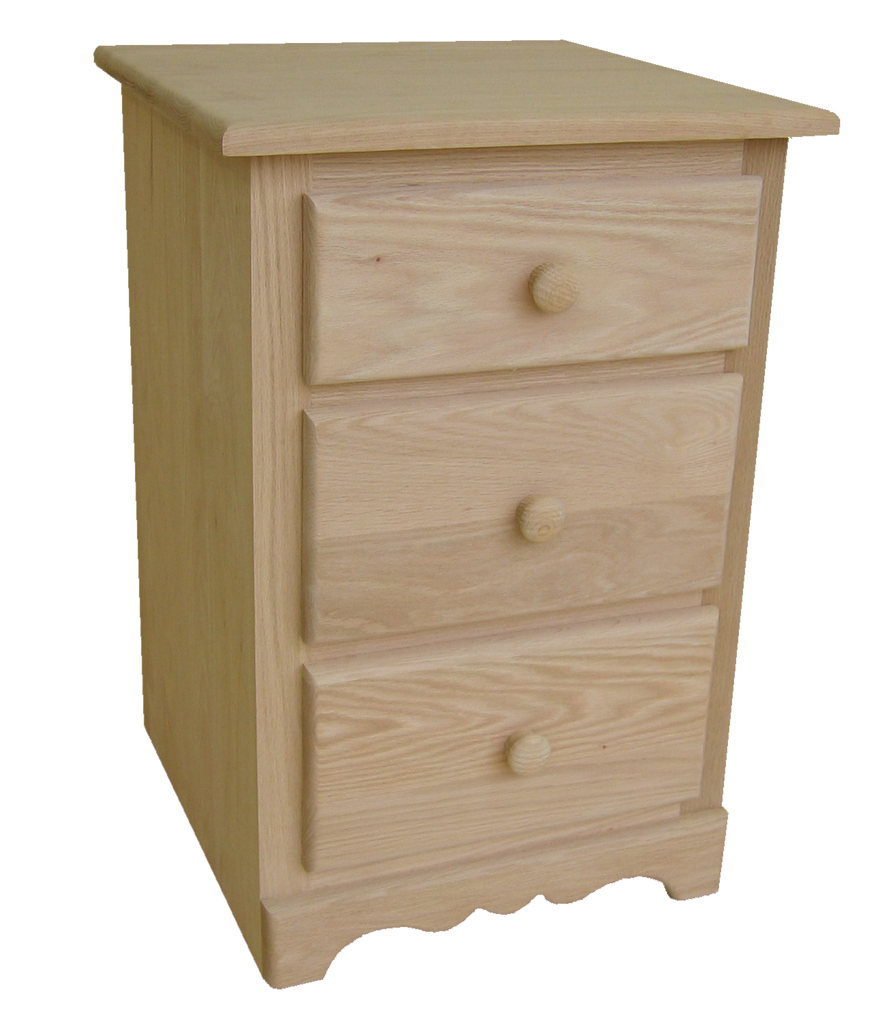 Cambridge 3 Drawer Nightstand