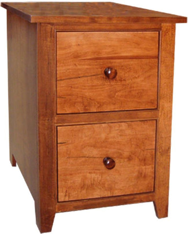 A Series Filing Cabinet in Brown Maple
