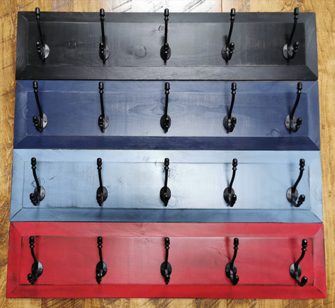 Panel Coat Rack 5-Hook