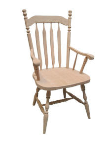Colonial Bent Arrow Arm Chair
