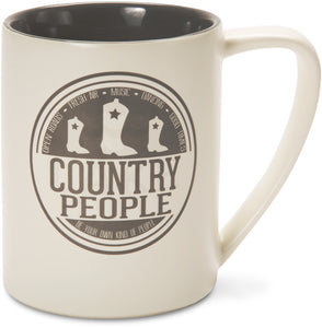 'Country People' Mug - We People Collection