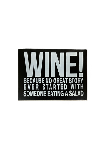 Sign Block Wine