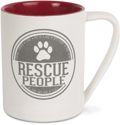 'Rescue People' Mug - We People Collection