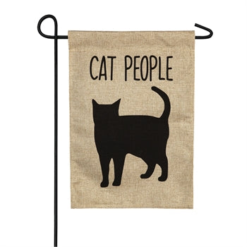 Garden Flag - Cat People