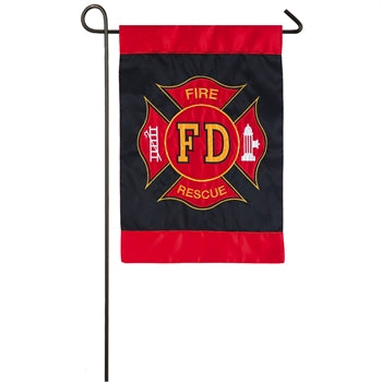 Garden Flag - Fire Dept