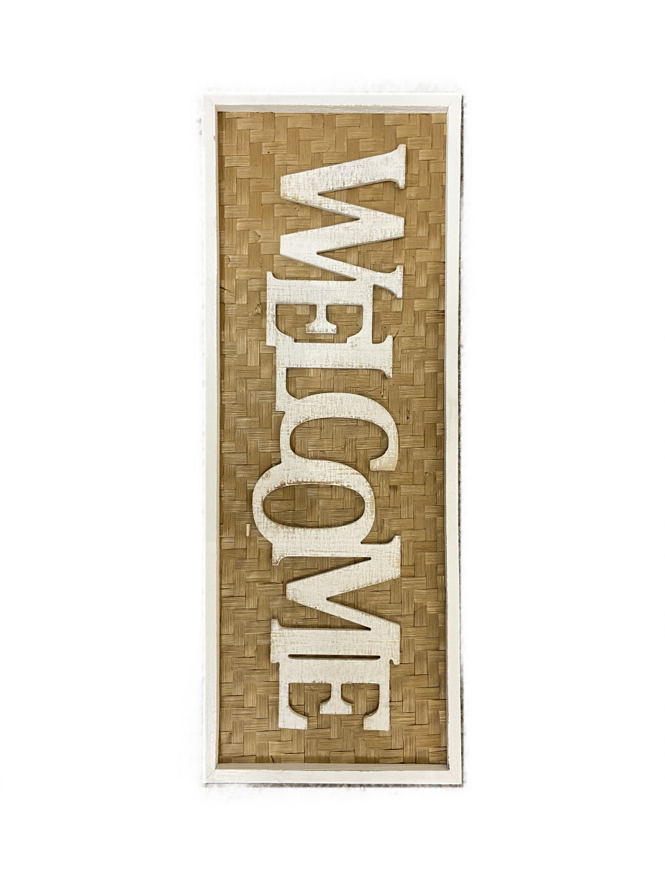 Sign Welcome Bamboo