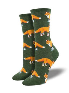 Socks Ladies Socksy foxes