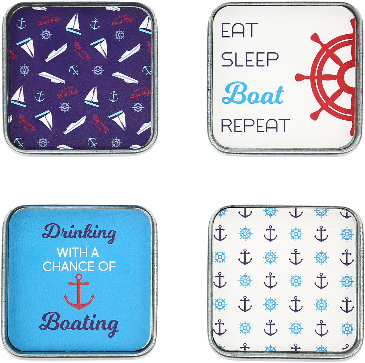 Coaster Set Boating