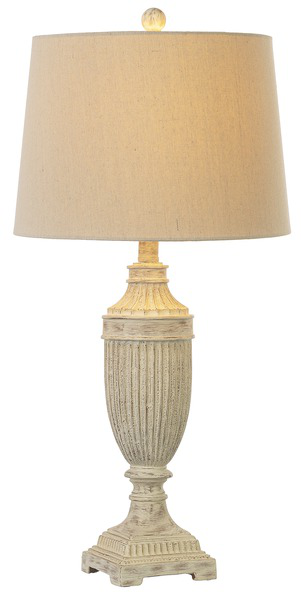Lamp Antique Ivory