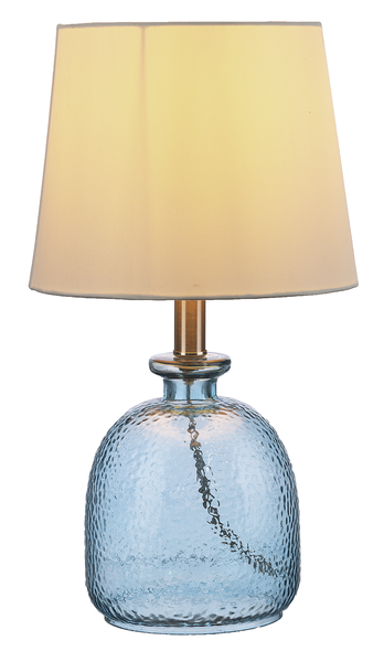 Lamp Hammered Glass