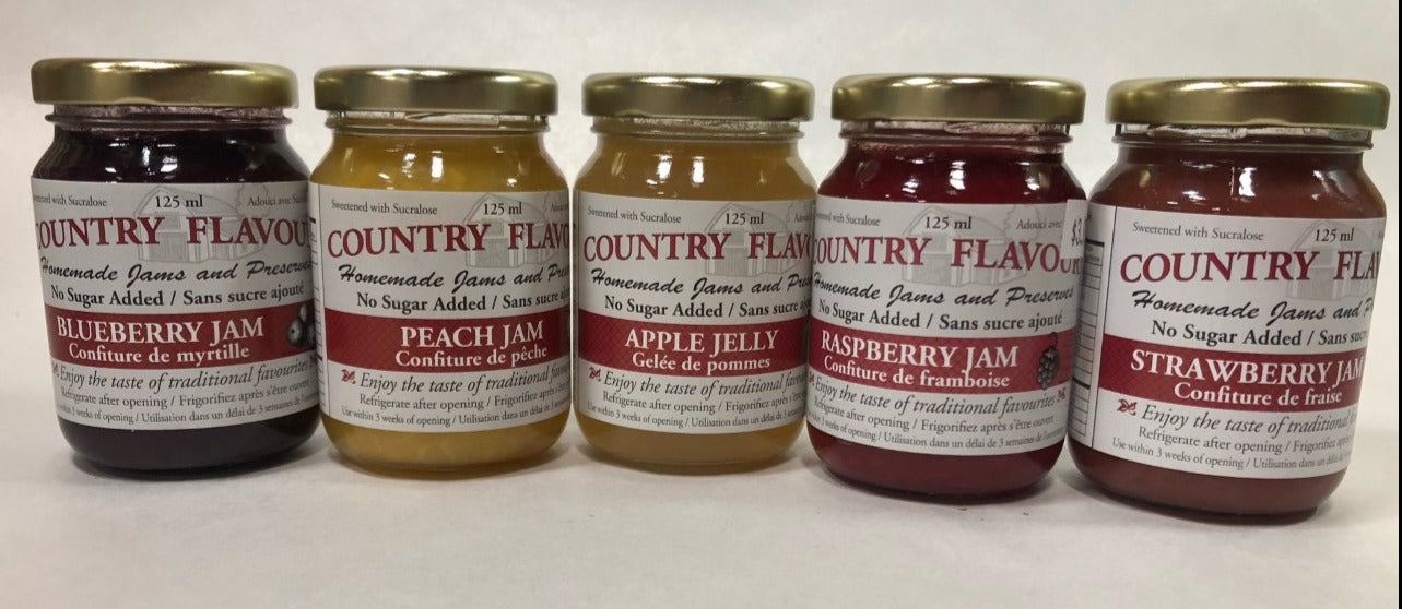 Assorted No Sugar Added Jam125mL