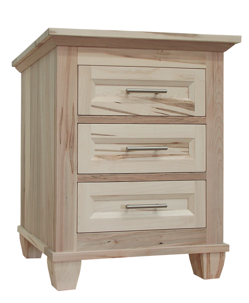 Algonquin 3 Drawer Nightstand