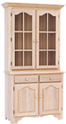 Legacy 2 Long Door Buffet with Hutch A402