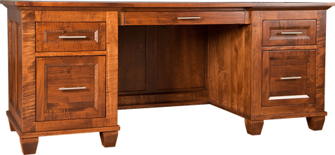 Algonquin Desk in Finished brown Maple