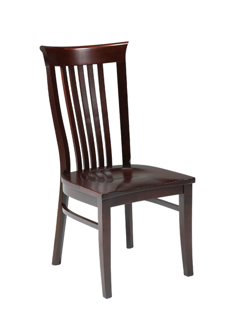 Athena Side Chair in finished maple
