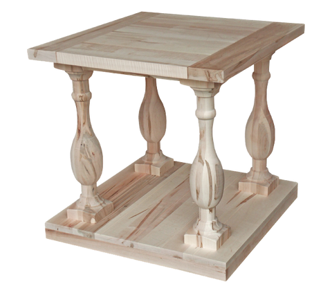 Balustrade End Table