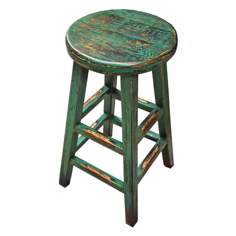 Kovu Round Stool - Green