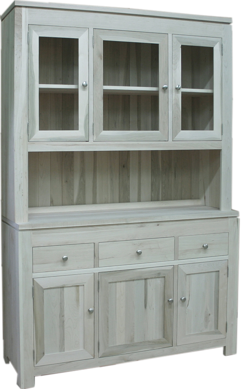 Newport 3 Door Buffet with Hutch and Pie Shelf