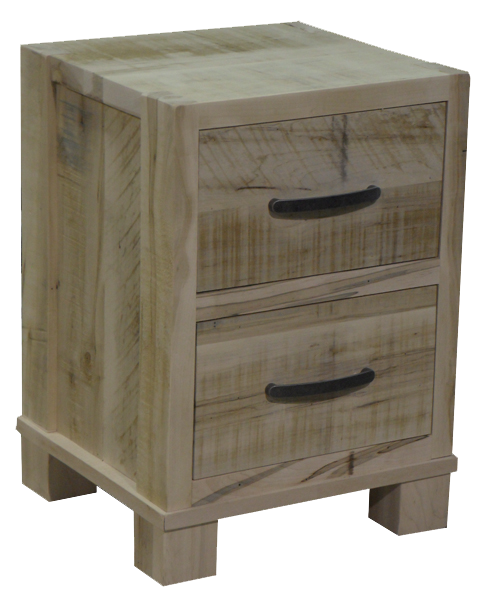 Backwoods 2 Drawer Nightstand