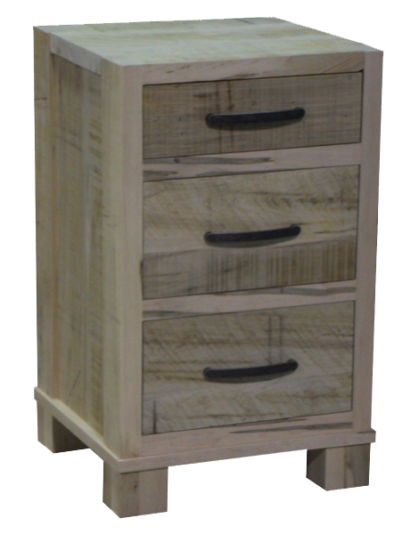Backwoods 3 Drawer Nightstand