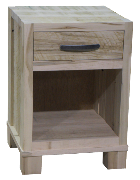 Backwoods 1 Drawer Open Nightstand