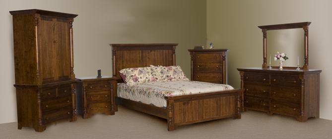 Bevel Top Bedroom Series