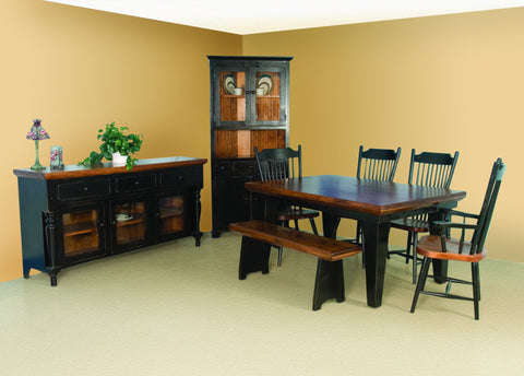 Bevel Top Dining Suite