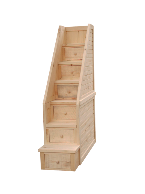 Dakota Rough Cut Step Chest
