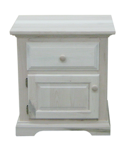 Carolina 1 Drawer 1 Door Nightstand