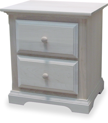 Carolina 2 Drawer Nightstand