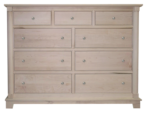 Cleveland 9 Drawer High Dresser