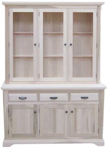 Chateau 3 Door Buffet with Hutch CH-26