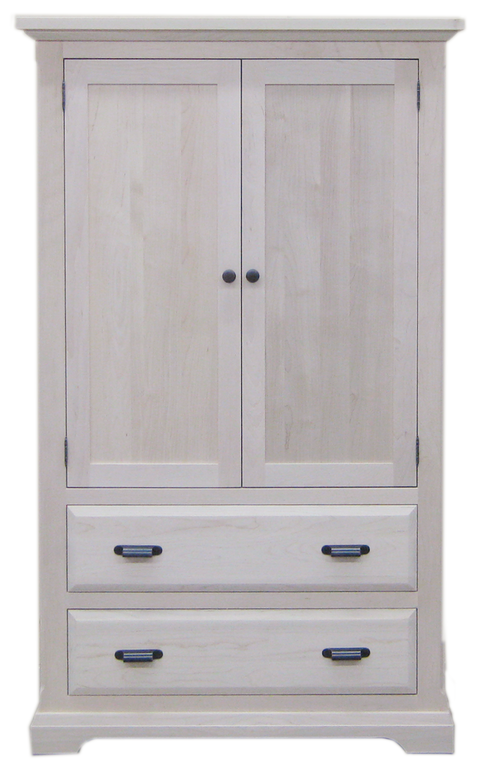 Chateau 2 Drawer 2 Door Armoire
