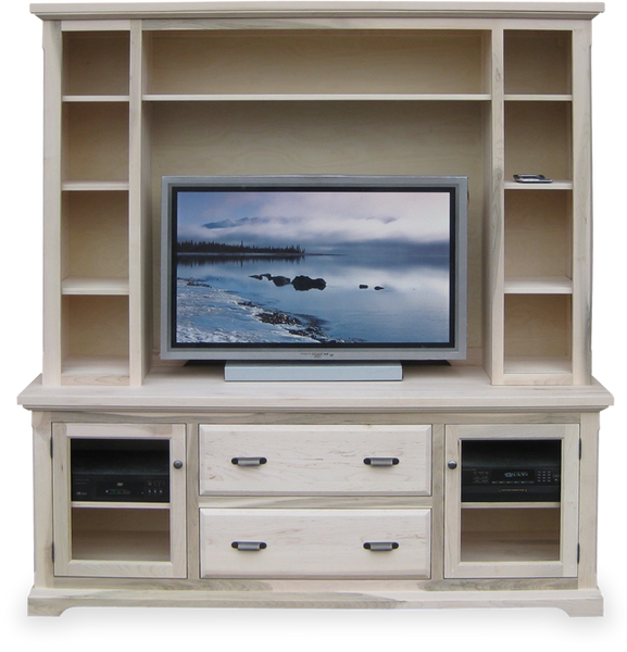 "72"" HDTV Console with Hutch CH-72H"