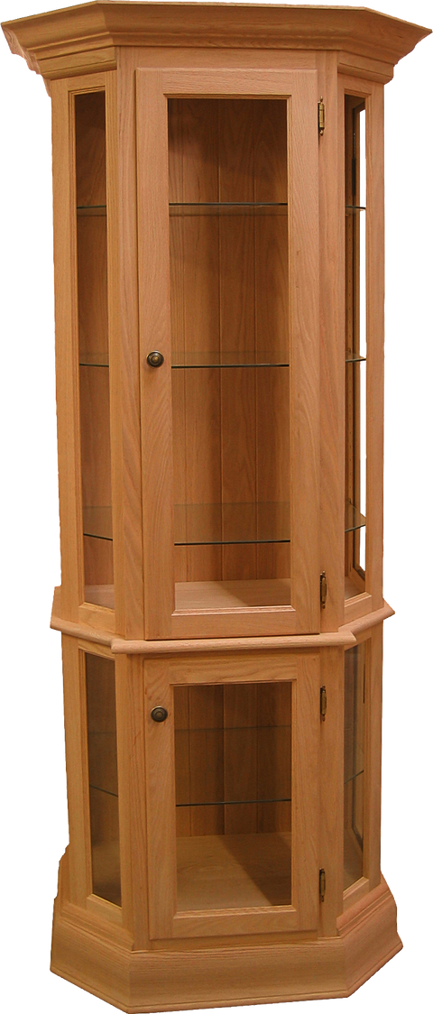 Legacy Crown Top Curio Cabinet