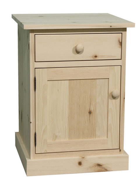 Cottage 1 Drawer 1 Door Nightstand