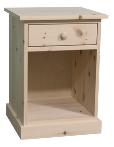 Cottage 1 Drawer Nightstand