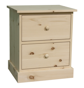 Cottage 2 Drawer Nightstand