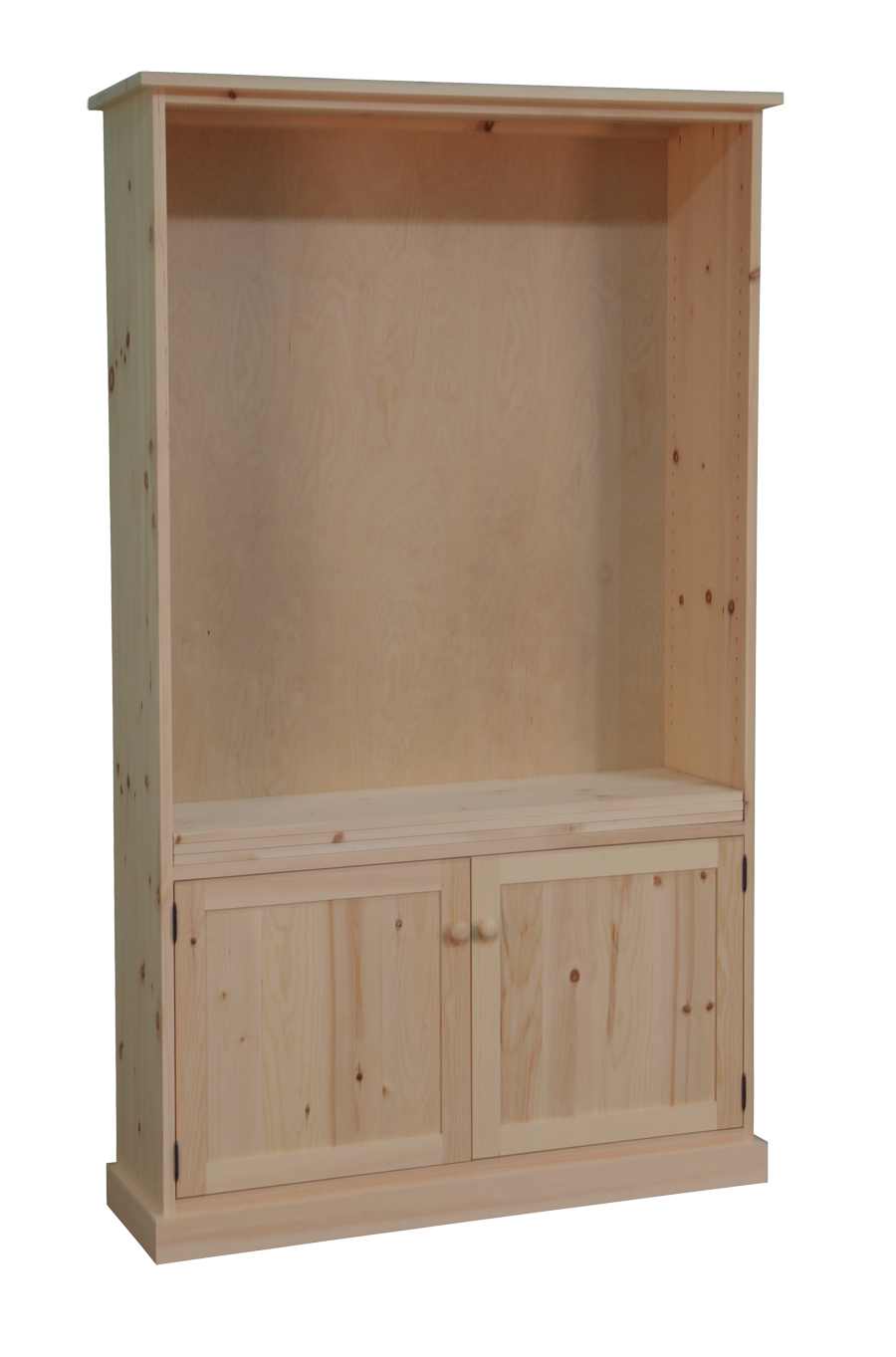 Cottage Standard Tall Bookcase with 2 Doors