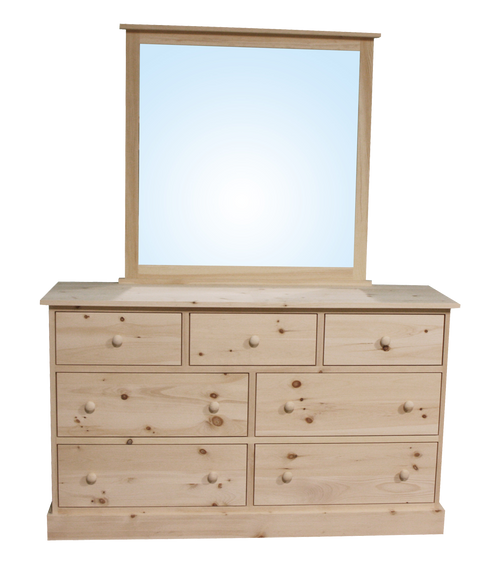 Cottage 7 Drawer Dresser