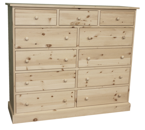 Cottage 11 Drawer Mule Chest