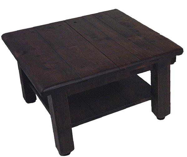 Square Coffee Table with Shelf CT3232S