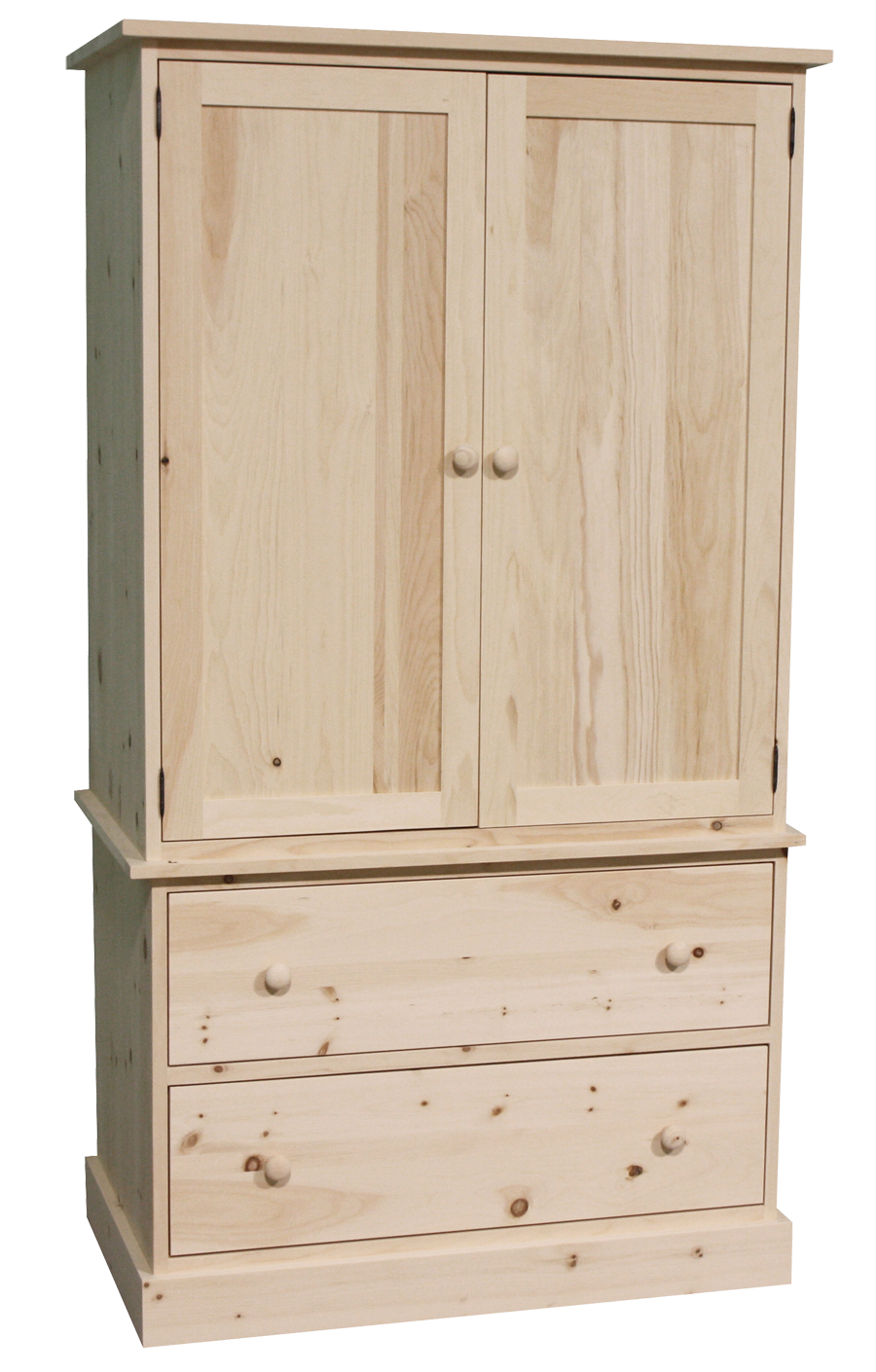 Cottage 2 Piece Armoire