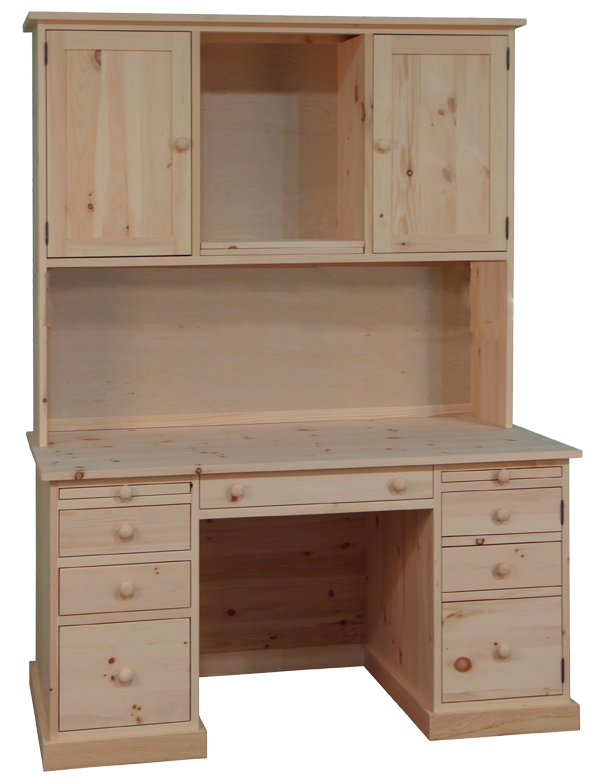 Cottage Classic Desk with Hutch